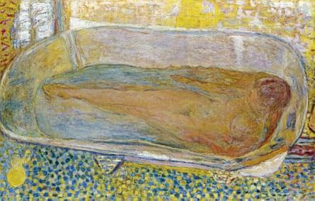 Big Bathtub (Nude), painted by Pierre Bonnard between 1937-1939.