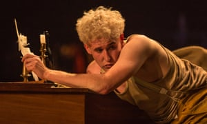 Adam Gillen as Mozart.