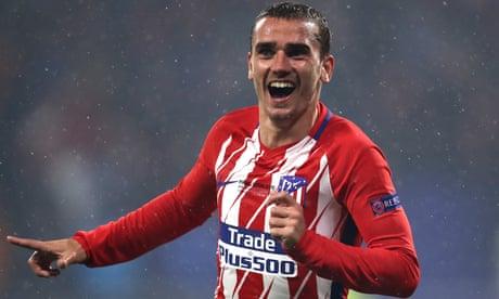 Antoine Griezmann fires Atlético past Marseille to Europa League glory
