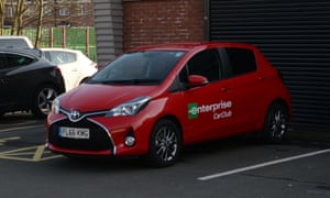 The branch of car-hire firm Enterprise in Spring Hill, Birmingham