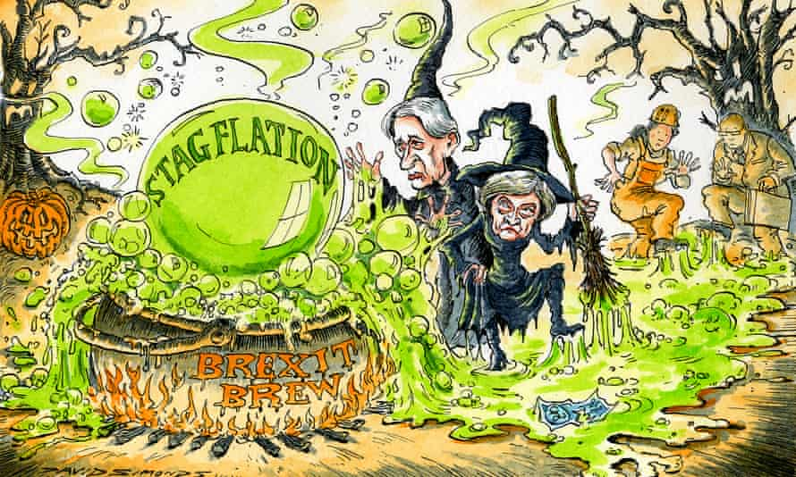 The spectre of stagflation looms over the economy. This time it