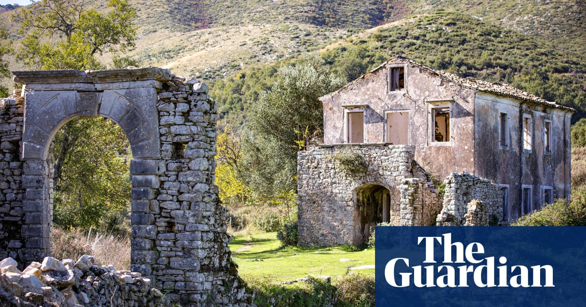 Greek revival: how Corfu's 14th-century ghost village came back to life