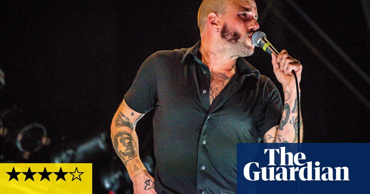 Idles review – primal howls and bullish power for the pits