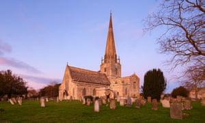 St Mary the Virgin parish church in Bampton, Oxfordshire.