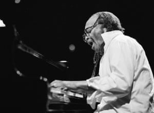 Curiosity, intelligence and contrarianism … Cecil Taylor performing in Amsterdam in 1990.