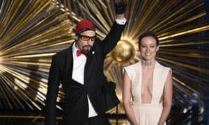 Sacha Baron Cohen and Olivia Wilde