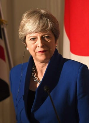 Theresa May portrait