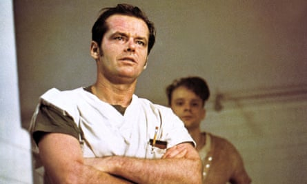 Misinformed … One Flew Over the Cuckoo's Nest, starring Jack Nicholson.