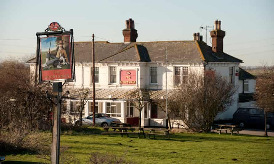 'It was a pub serving its purpose as a local': the Sportsman in Seasalter, Kent.