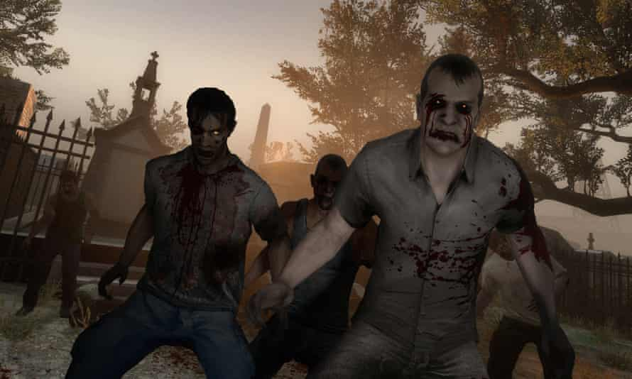 The Left 4 Dead games feature an AI Director that alters enemy types and threat levels depending on player actions