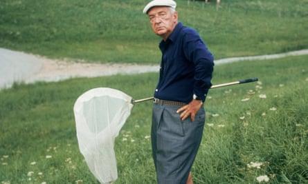 Vladimir Nabokov in 1975