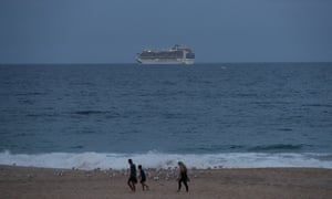 Ruby Princess has left Port Kembla and is heading to the Philippines.