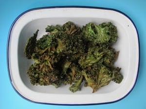 Angela Liddon's coconut-oil kale chips.