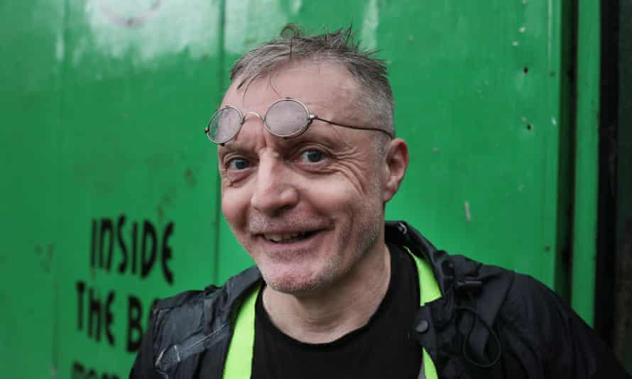 Rob Jones-Mantle was a founding member of Magpie Co-operative, one of the oldest recycling teams in the country.