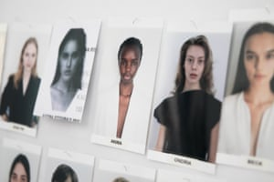 The casting of Bianca Spender's show including a range of diverse models