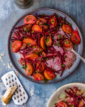 Move to the beet: beetroot salad.