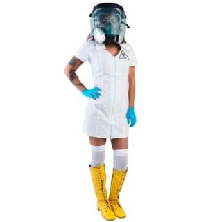 'Sexy Ebola nurse' costume.