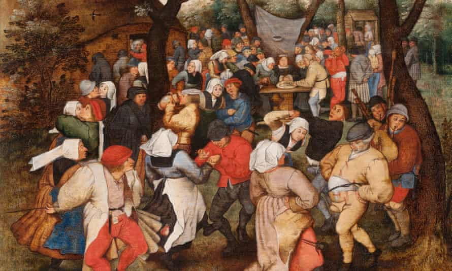 A second-rate simulacrum … Pieter Brueghel the Younger's painting Wedding Dance in the Open Air.