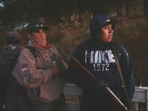 Mexico; Guerrero; Rincon De Chautla; 2020 Local indigenous community police CRC-PF. In 2019 they have been targeted by the criminal group of Los Ardillos.