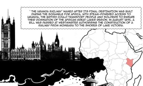 From Naiberi to Nairobi: how Kenya's melting pot capital was born – a cartoon
