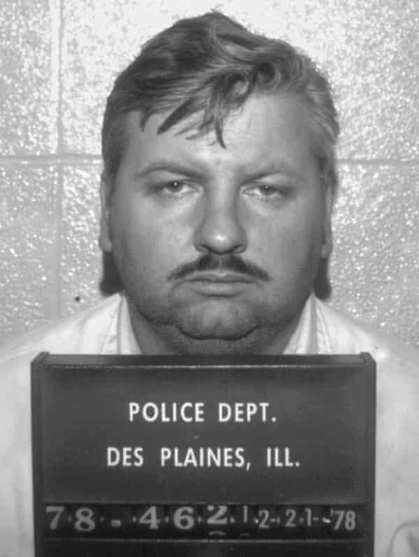 John Wayne Gacy, responsible for 33 murders.