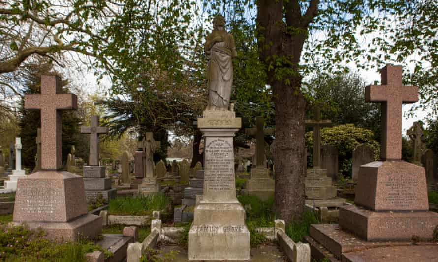 The City of London Cemetery and Crematorium in Wanstead/Manor Park, east London.
