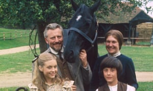 William Lucas with Charlotte Mitchell, Judi Bowker and Roderick Shaw in Black Beauty