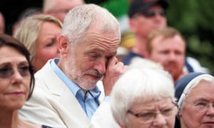 Jeremy Corbyn at the Tolpuddle Martyrs rally
