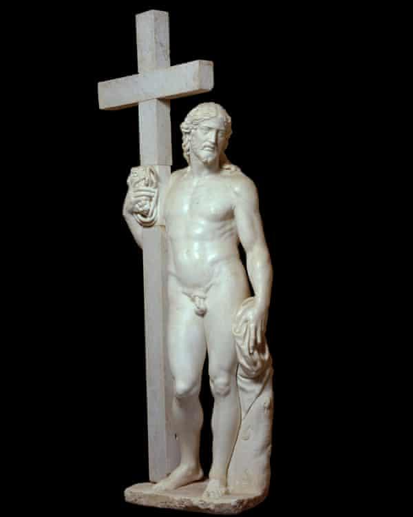 'Astounding' … Michelangelo's original Risen Christ.