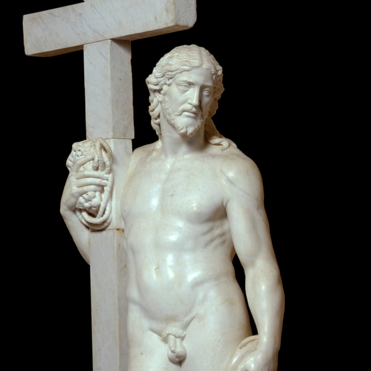 In All His Glory Michelangelo S Naked Christ Comes To Britain Art And Design The Guardian