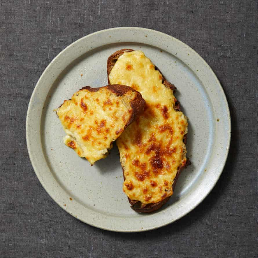 More than cheese on toast: Tommy Heaney's Welsh rarebit.