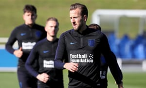 Harry Kane cut short training as England monitor his workload before the Nations League game in Croatia.