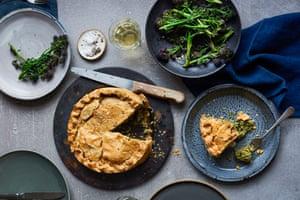 Anna Jones' torta pasquale (Easter pie).