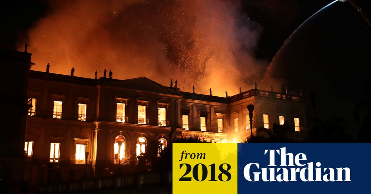 Brazil museum fire: 'incalculable' loss as 200-year-old Rio