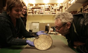 Michael Rosen visits the British Museum as part of the project.