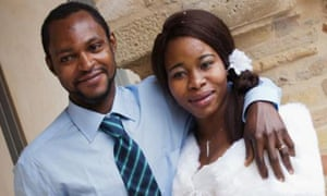 Emmanuel Chidi Namdi and his wife Chinyery Emmanuel.