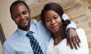 Emmanuel Chidi Namdi with his wife