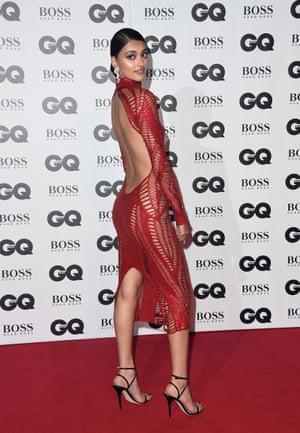 Neelam Gill in her favourite Julien MacDonald dress.