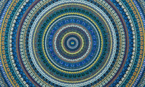 Damien Hirst Flutters Round The Cosmos On Butterfly Wings Mandalas Review Art And Design The Guardian