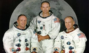 The real Apollo 11 crew … from left Neil Armstrong, Michael Collins and Buzz Aldrin.
