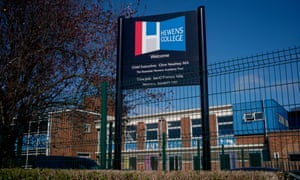 Hewens College in Hillingdon, west London