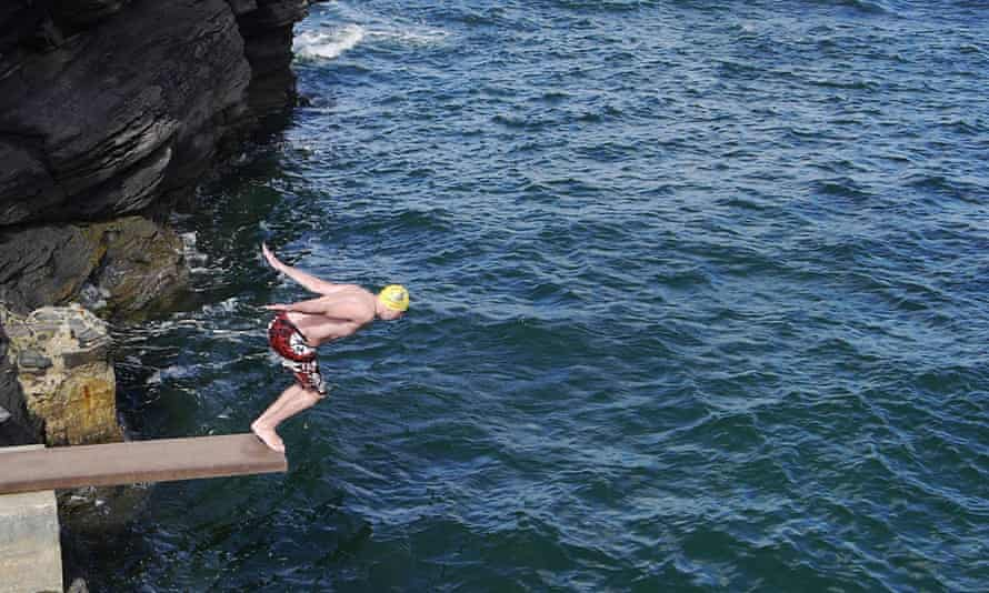 Springboard at Rougey Rocks, Co Donegal