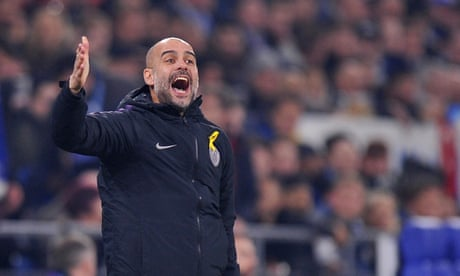 Pep Guardiola: 'Still we are not ready to fight for the Champions League' – video