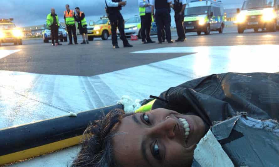 Plane Stupid protesters at Heathrow