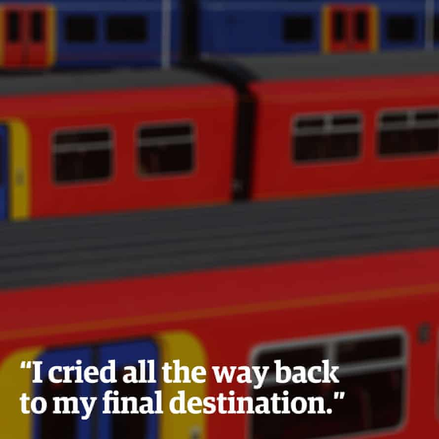 """""""I cried all the way back to my final destination."""""""