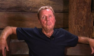 Harry Redknapp in I'm a Celebrity: when will he take a flannel to his armpits?