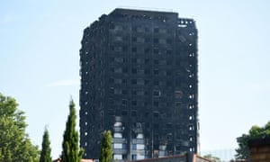 Grenfell Tower was clad in aluminium panels which had a combustible plastic core.