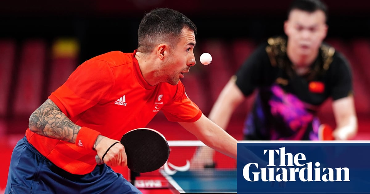 Will Bayley shakes off Strictly injury to grab Paralympic table tennis silver