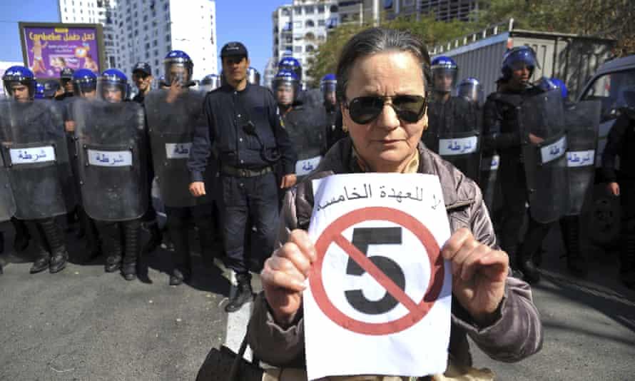 Algeria protester