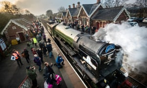 Diesel is dying – let steam trains ride to the rescue